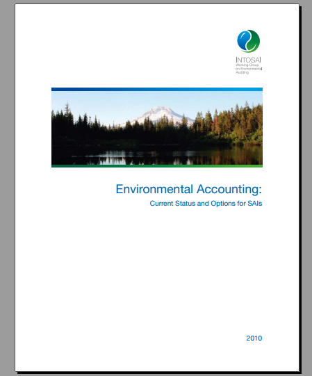 Environmental Accounting: Current Status and Options for SAIs